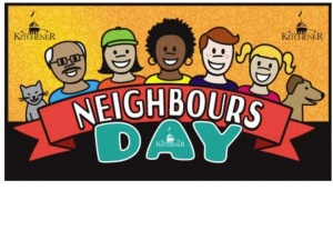 Neighbours day poster