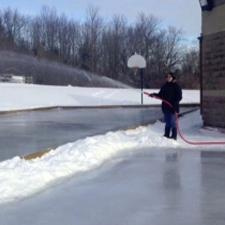 icing skating rink