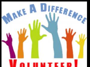 volunteer poster with hands