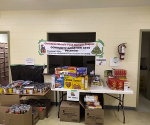 2019 DPPCA Christmas Miracle Food Hamper Project